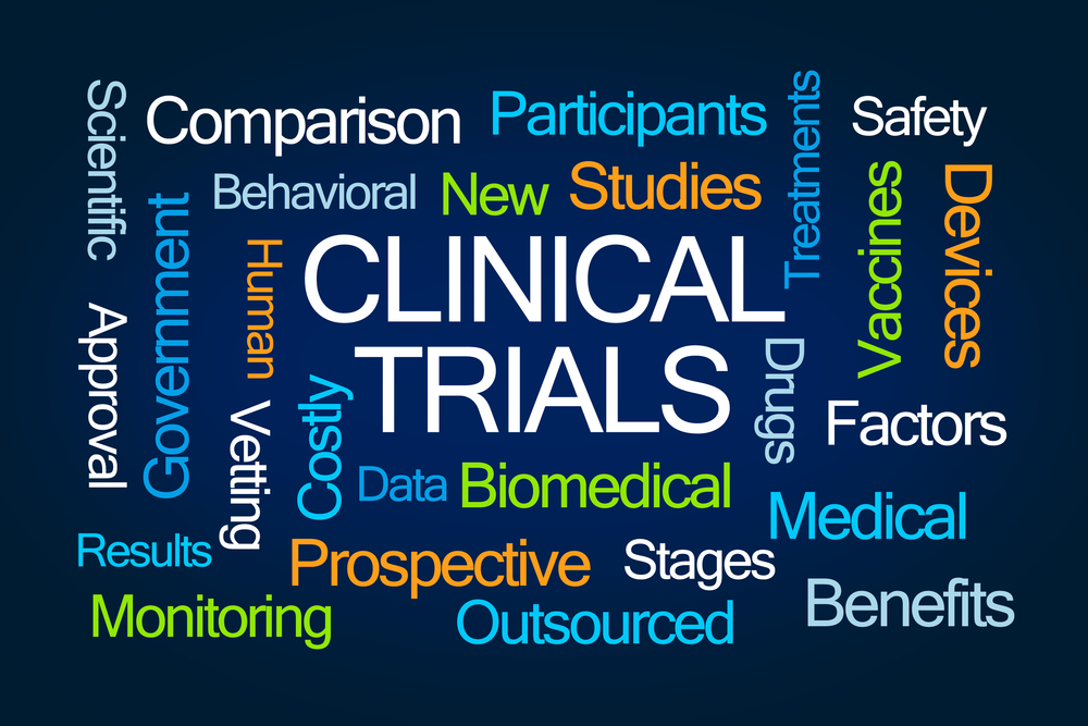 Clinical Trials Word Cloud Meridian Super Clinic