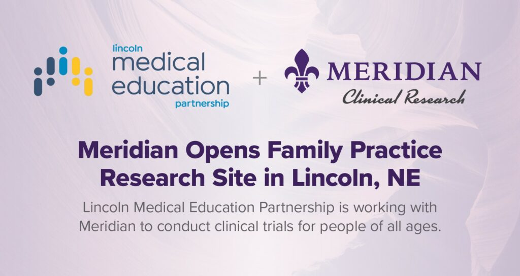 Meridian opens new site in Lincoln, NE