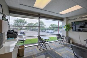 Meridian Clinical Research headquarters - interior