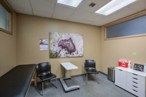 Meridian Clinical Research headquarters - exam room