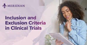 Inclusion and Exclusion Criteria in Clinical Trials